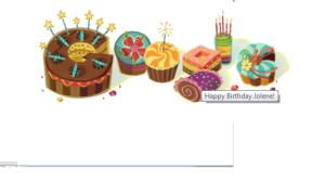 Google birthday 2014