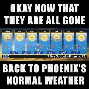 PostSuperBowl weather