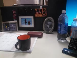 Cubicle Clutter