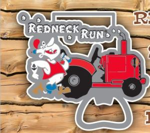 redneck run medal