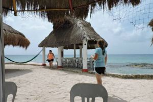 beach bar Cozumel